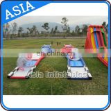 New design sporting events inflatable race track go kart inflatable circuit racing track