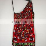 indian banjara gypsy mirror work handmade dress