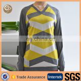 Knittng long sleeve multi color 100 cashmere sweater