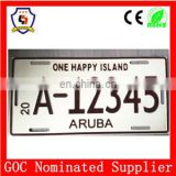 10 years manufacturer Car license plate frame in USA standard/car license plate HH-licence plate-(1)