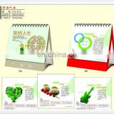Gifts custom printing delicate Desk calendar for 2015