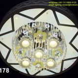 hot sale  crystal lamp,LED lighting,Chandelier with remote control,bluetooth MP3