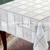54'' Plastic Vinyl PVC Table Cloth Cover Lace in Roll