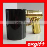 OXGIFT Weapons modeling Ceramic cup,Pistol cup