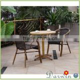 Rattan Garden Furniture Bristol Reclining Set With Aluminum Bamboo Chair