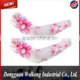 Compression Polyester Sublimation Arm Sleeve, Cycling Arm Protect Sleeve