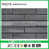 Flexible clay hot sale modern house design exterior and interior handmade clay bricks