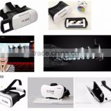 High quality virtual reality 3d vr glasses, ABS plastic 2nd genaration vr box 2.0 for smart phone