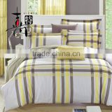 Home textile factory printed Reactive Printing satin duvet cover set Bed linen Sheet 100%cotton Bedding set