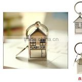 fancy house shape usb flash drive,2014 new arrival,metal usb flash memory,usb pen drive wholesale
