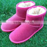 wholesale snow boots top quality women sheepskin snow boots non slip winter snow boots stick a card processing