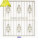 SW-003 Alibaba china Latest steel/wrought iron window grill design                                                                         Quality Choice