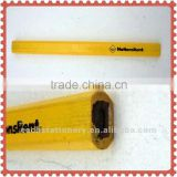 "7"" HB yellow wide octagonal wooden Capenter pencil yiwu pencil factories,pencils with logo"