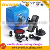 High Quality Mobile Phone Battery Air-conditioning outlet On-board wireless Glass strong chuck Charger