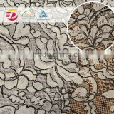 wholesale best sale high quality white cord lace dress patterns fabric for bridal wedding dress