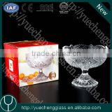 Machine-made clear crystal glass fruit plate wholesale                                                                         Quality Choice
