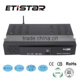 New hot sale dvb t2 HD Digital Video Broadcasting Terrestrial digital tv set top box                                                                                                         Supplier's Choice