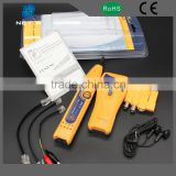 OEM multi-function lan cable tester, yellow color strength lan cable tester prices