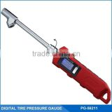 Professional Auto Tool Digital Tire/Tyre Pressure Gauge W/ Copper Hose, LED Flashlight and 360 Degree Rotation