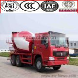 SINOTRUK Factory 6x4 HOWO right hand drive concrete mixer truck