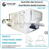 Color Printing Paper Facial Tissue Jumbo Roll Slitting Machine
