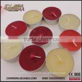 colorful scented mini tealight candle