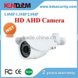 Kendom golden supplier cost effective ir IP67 weather proof ahd bullet camera with 3.6mm or 6.0mm fixed lens and metal case