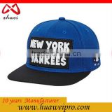 Made In China Oem Unisex Adjustable Hip Hop Sport Support Hat Snapback Baseball Cap