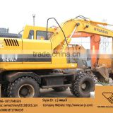 new arrival korea made used hyundai 150w-7 wheel excavator in china