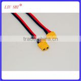 XT60 battery connector cable splitter silicone wire, battery cable wire