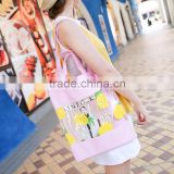 Customized canvas beach tote bag custom tote bag                                                                                                         Supplier's Choice