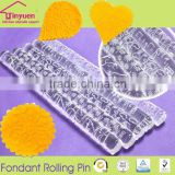 Fondant Decorative Embossing Acrylic Rolling Pin