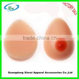 Silicone transgender breast forms for men