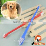 Puppy Brush Dental Care New Pet Dog Plastic Clean Teeth Toothbrush Grooming Tool