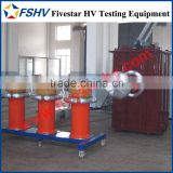 HV AC Test System with Metal Tank Reactor for XLPE Cable Factory Rountine Voltage Testing