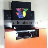 t shirt printer/direct to garment printer/DTG printer black tshirt white ink printing macine