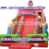 The most popular outdoor giant inflatable clown slide, inflatable water slide, inflatables SP-SL079