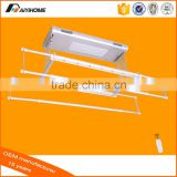 Electric Automatic Remote control Lifting clothes drying rack, Ceiling mounted aluminium clothes dryer rack