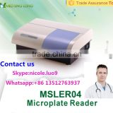MSLER04-I Laboratory Elisa reader/Clinic Elisa reader must be worked with the computer