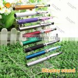 retail shop countertop e cig rotating display stand/cigarette display holder /transparent e-cig display stand