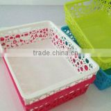 Plastic Colorful Storage Baskets                                                                                                         Supplier's Choice