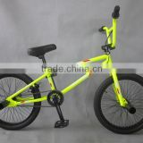 "20"" Steel frame bmx bike/freestyle bicycle china supplier"
