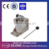 manual Syringe Needle Destroyer with CE approved