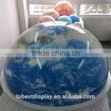 Customize acrylic material large plastic globe, large world globe