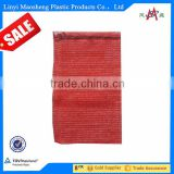 50 * 80 red onion PP mesh bag for fruits and vegetable package PP raschel mesh potato bag