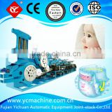 YICHUAN brand baby nappy making machine made in China