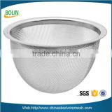 Stainless steel wire mesh filter cap strainer/metal mesh filter basket