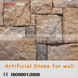 Light weight easy install fire proof exterior wall artificial culture stone panel