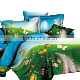 Butterflies Design Wholesale Price Print 3D Bedsheet of Bedding Sets                                                                         Quality Choice                                                                     Supplier's Choice
