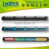 CAT.5E/CAT.6/CAT.6A Patch Panel 24 PORTS